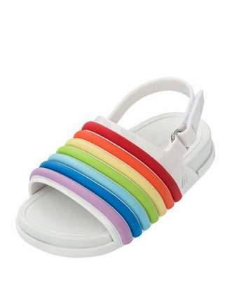 Mini Melissa Mini Rainbow Beach Slide, Toddler