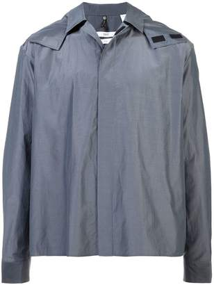 Oamc hooded shirt jacket