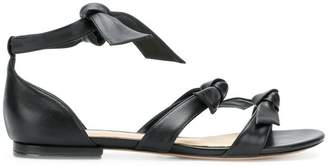Alexandre Birman bow tie strappy sandals