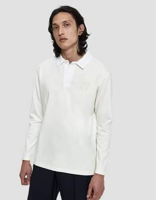 Wood Wood L/S Oliver Polo Shirt