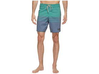 United By Blue Backwater Scallop Boardshorts Men's Swimwear
