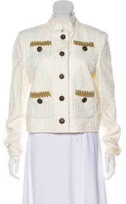 Just Cavalli Structured Long Sleeve Blazer