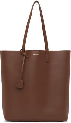 Saint Laurent Brown Toy North/South Shopping Tote