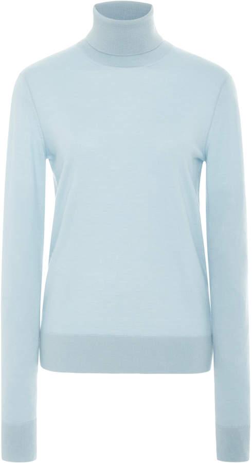 Long Sleeve Simple Wool Sweater