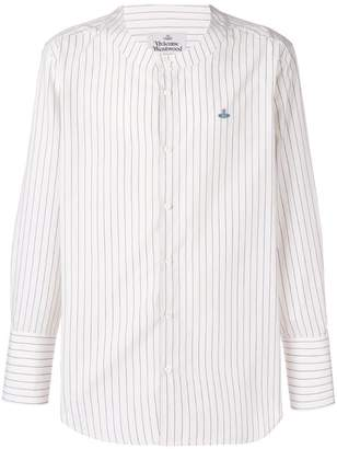 Vivienne Westwood round neck striped shirt