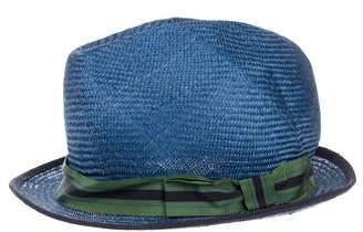 Inverni Straw Fedora Hat