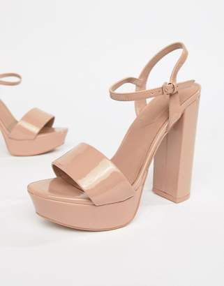 Aldo platform heeled sandals