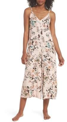 Lacausa Floral Santi Crop Jumpsuit