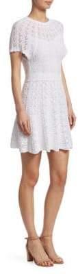 RED Valentino Knit Short Sleeve Dress