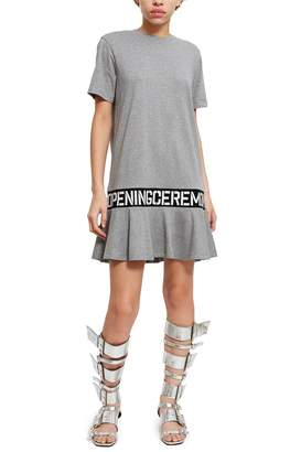 Opening Ceremony Oc Elastic Logo T-Shirt Dress