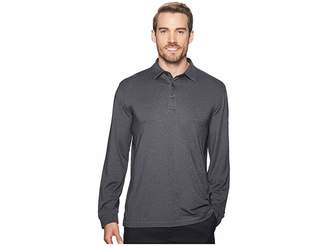 Callaway Extra Soft Long Sleeve French Terry Heathered Solid Polo