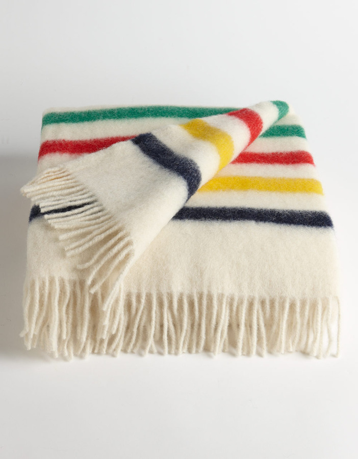 Hudson's Bay Company Multistripe Caribou Throw