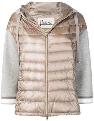 Herno panelled padded jacket