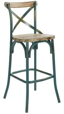 Gracie Oaks Provenzano 30 Bar Stool