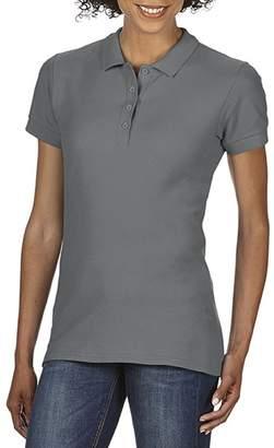 Gildan Softstyle Womens/Ladies Short Sleeve Double Pique Polo Shirt (M)
