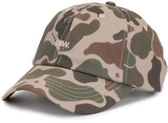 Wood Wood camouflage print baseball cap
