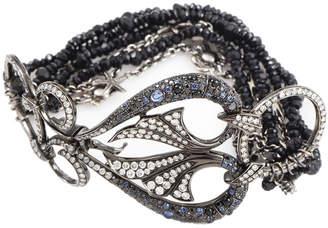 Stephen Webster 18K & Rhodium 0.77 Ct. Tw. Diamond & Gemstone Bracelet