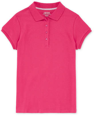 Izod EXCLUSIVE Exclusive Short Sleeve Knit Polo Girls 4-18 and Plus
