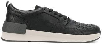 Bottega Veneta nero calf grand sneaker