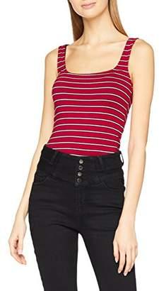 New Look Women's 5640760 Vest Top, (Red Pattern)