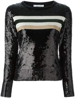 Aviu sequin embellished jumper