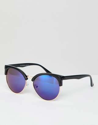 7x 7X Sunglasses With Blue Lens