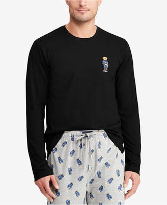 Polo Ralph Lauren Men's Polo Bear Crew-Neck Cotton Shirt