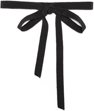 Gucci Grosgrain neck bow