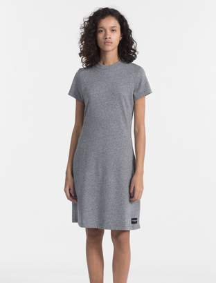Calvin Klein cotton terry dress