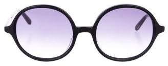Garrett Leight Nowita Round Sunglasses