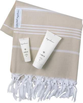 Kapuluan Coconut Raw Organic Coconut Oil & Limited Edition Turkish Towel