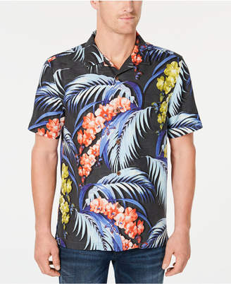 Tommy Bahama Men's Hana Lei Fronds Floral-Print Shirt
