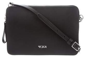 Tumi Textured Leather Crossbody Bag