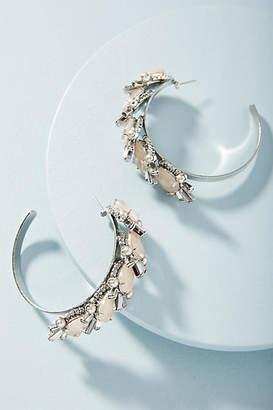 Elizabeth Cole Preston Hoop Earrings