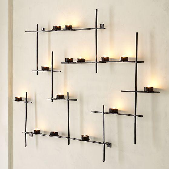 Lattice Wall Candle Holder