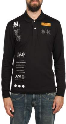 La Martina Cotton Streatch Polo Shirt