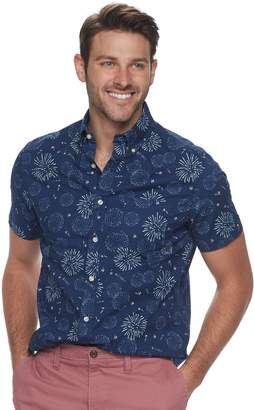 Sonoma Goods For Life Men's SONOMA Goods for Life Slim-Fit Poplin Button-Down Shirt