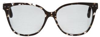 Bottega VenetaBottega Veneta Polarized Intrecciato Sunglasses