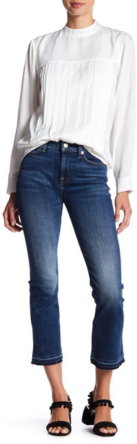 7 For All Mankind7 For All Mankind Cropped Bootcut Jean