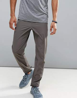 Perry Ellis 360 Sports Jogger Distance Stripe Waist In Dark Grey