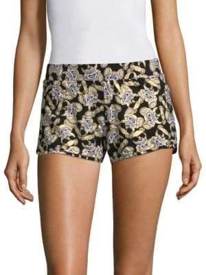 Cotton Teddy Shorts