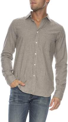 Hartford Storm Slim Fit Flannel Shirt