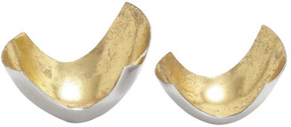 Uma Enterprises Set Of 2 Aluminum Bowls