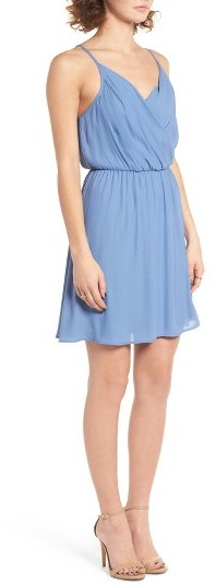 Women's Lush Surplice Camisole Dress 4