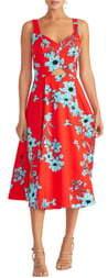 Rachel Roy Cutout Floral Midi Sundress