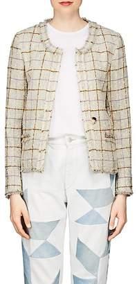 Etoile Isabel Marant Women's Lyra Checked Wool Jacket