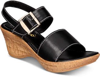 Callisto Shelton Platform Wedge Sandals, Created for Macy's Women's Shoes
