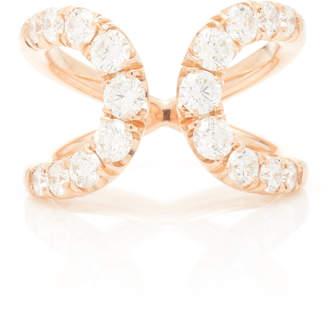 Ark Quantum 18K Rose Gold Diamond Ring