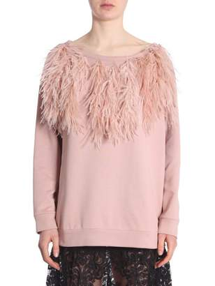N°21 Sweatshirt With Feathers
