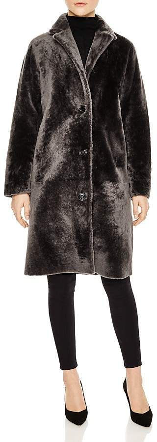 Sticky Real Lamb Shearling Coat